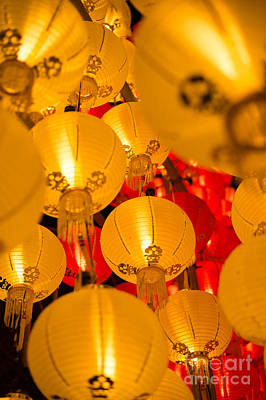Photograph - Japanese Lantern 3 by Steven Hendricks