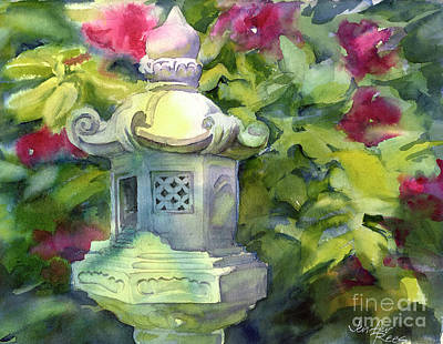 Japanese Lantern Original by Jenifer Rees