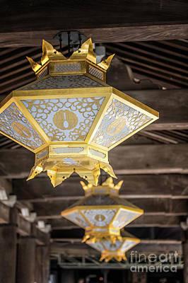 Photograph - Japanese Lantern by Karen Jorstad