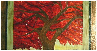 Painting - Japanese Maple by Ellen Beauregard