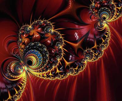 Digital Art - Japanese Ornamentation by Georgiana Romanovna