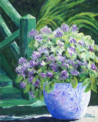 Painting - Japanese Pot At Monets Home by Tara Moorman