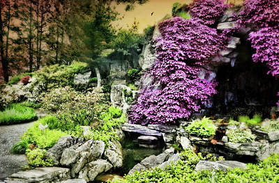 Photograph - Japanese Rock Garden by Diana Angstadt
