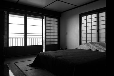 Japanese Style Room At Manago Hotel Art Print