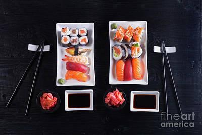 Photograph - Japanese Sushi  II by Anastasy Yarmolovich