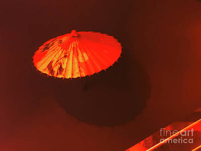 Photograph - Japanese Umbrella  by Camille Pascoe