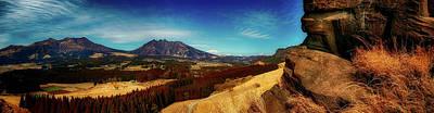 Photograph - Japanese Valley Panorama by Kohji Asakawa
