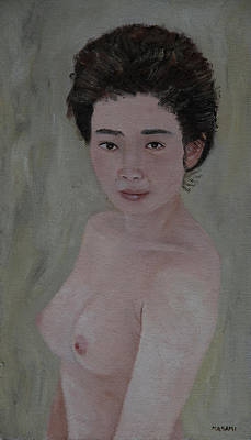 Painting - Japanese Woman by Masami Iida