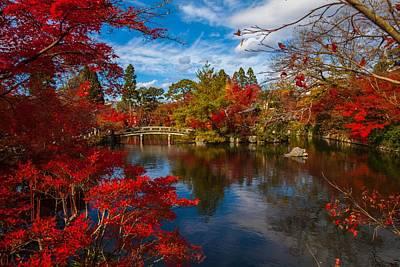 Photograph - Japanese Zen Garden by Joy of Life Art Gallery