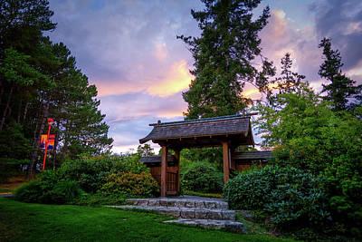 Photograph - Japanese Zen Garden by Keith Boone