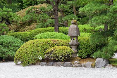 Photograph - Japanese Zen Rock Garden At Portland Japanese Garden Portland Oregon 5d3764 by Wingsdomain Art and Photography