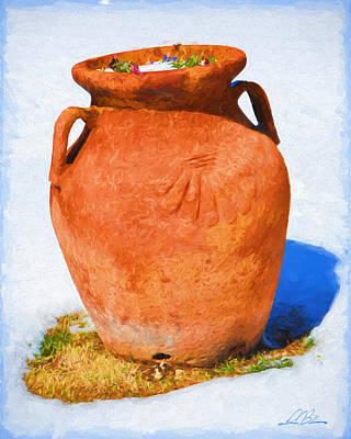 Jar In Winter 2015 Original by Gary D Baker