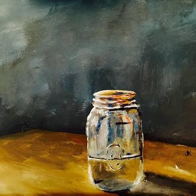 Jar Of Water Original by Justin Kokay