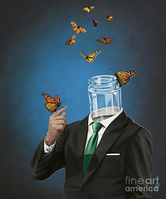 Digital Art - Jar by Rob Snow