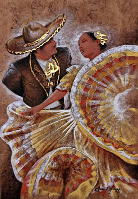 Jarabe Tapatio Dance Art Print