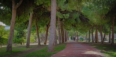 Photograph - Jardi Del Turia City Park by Henri Irizarri
