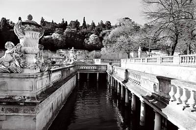 Photograph - Jardin De La Fontaine 2 by Andrew Fare