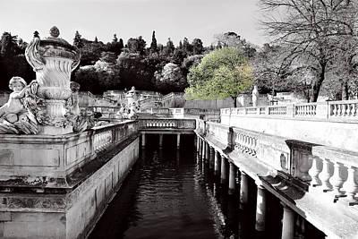 Photograph - Jardin De La Fontaine 3 by Andrew Fare
