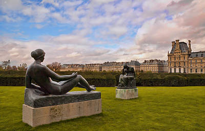 Photograph - Jardin Des Tuileries by Mick Burkey