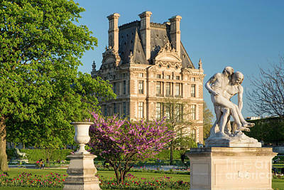 Jardin Des Tuileries - Paris Art Print