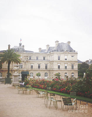 Photograph - Jardin Du Luxembourg by Ivy Ho