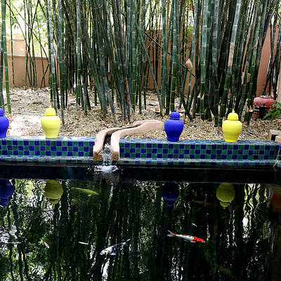 St. Laurent Photograph - Jardin Majorelle by Andrew Fare