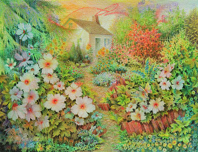 Painting - Jardin Secret by Lynn Bywaters