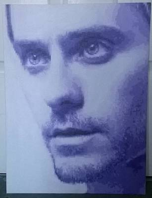 Jared Leto Painting - Jared Leto by Laura B
