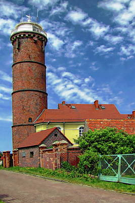 Photograph - Jaroslawiec Lighthouse by Anthony Dezenzio