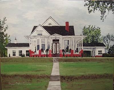 Arkansas Painting - Jarrard House by Sharon  De Vore