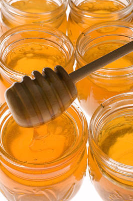 Jarrs Of Honey Print by Garry Gay