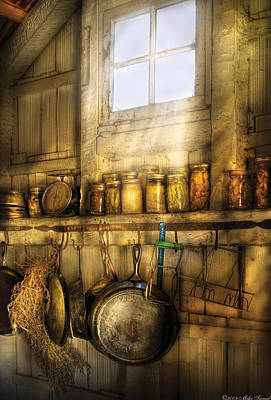 Country Photograph - Jars - Winter Preserves  by Mike Savad