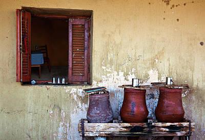 Jars Art Print by Armando Picciotto