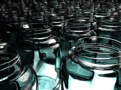 Jars Art Print by Joel Lueck