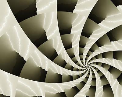 Convergence Digital Art - Jas 3 by Vic Eberly