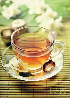 Jasmine And Green Tea Art Print