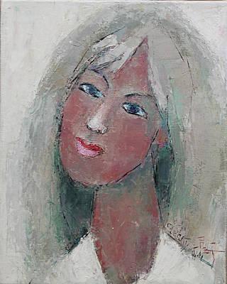 Painting - Jasmine by Becky Kim