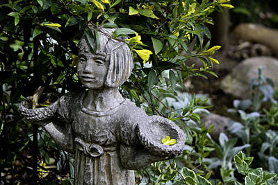 Spring Scenes Photograph - Jasmine Statue by Teresa Mucha