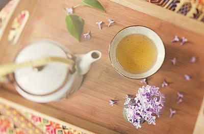 Jasmine Tea And Lilac Art Print