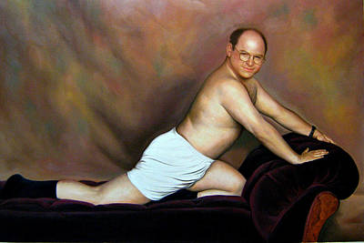 Jason Alexander As George Costanza Art Print