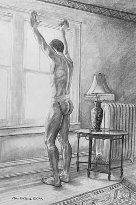 Jason At The Window Art Print