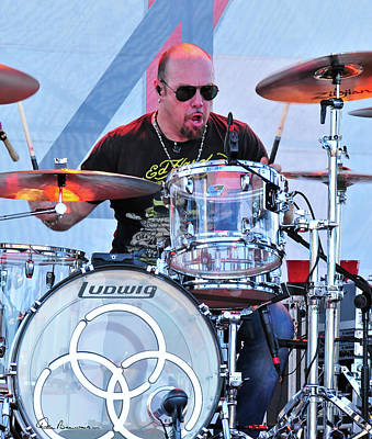 Dan Beauvais Royalty-Free and Rights-Managed Images - Jason Bonham by Dan Beauvais