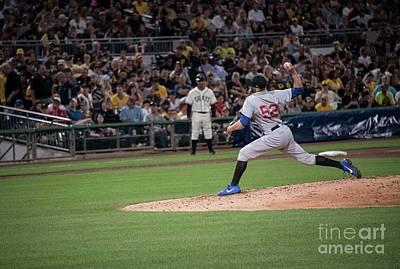 Pennsylvania Baseball Parks Photograph - Jason Grimm by David Bearden