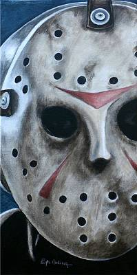 Painting - Jason Up Close And Personal  by Al  Molina