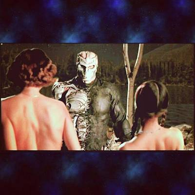 Photograph - jason X Was Good But Critics Always by XPUNKWOLFMANX Jeff Padget