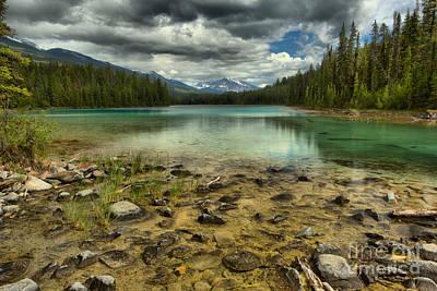 Photograph - Jasper 5th Lake by Adam Jewell