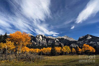 Photograph - Jasper - Autumn Scenic by Terry Elniski