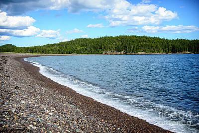 Photograph - Jasper Beach by Alana Ranney