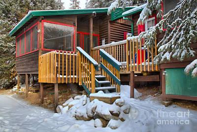Photograph - Jasper Beauty Creek Hostel by Adam Jewell