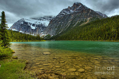 Photograph - Jasper Cavell Lake by Adam Jewell